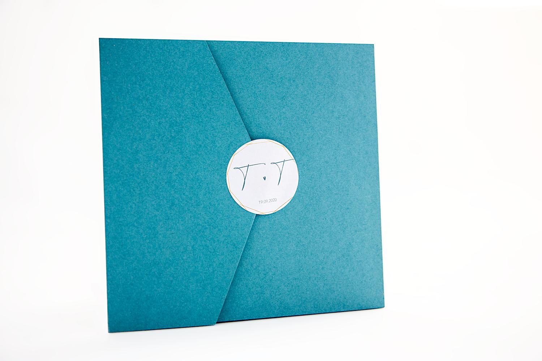Umschlag Hochzeitseinladung